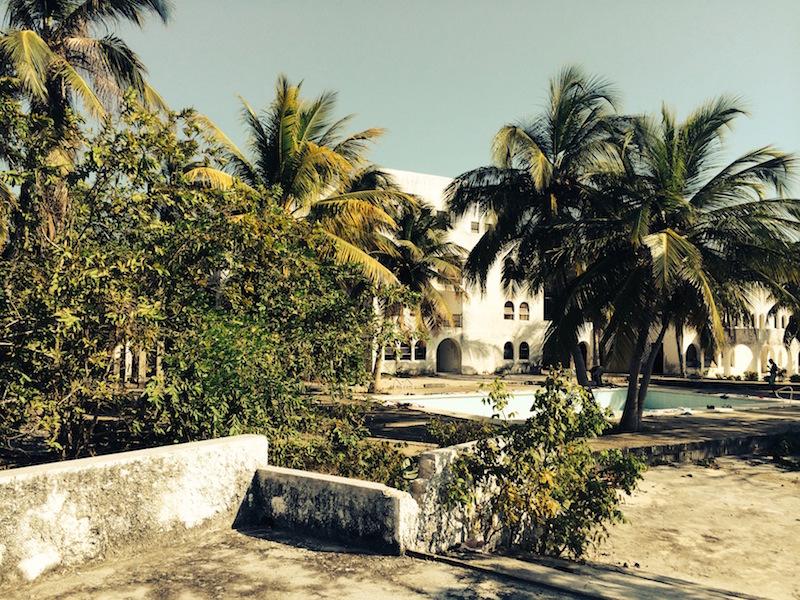 La mansión de Pablo Escobar en Isla Grande