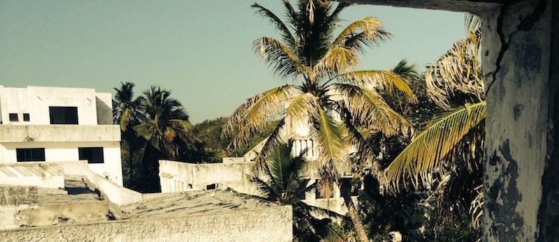 Tejados de la mansión de Pablo Escobar