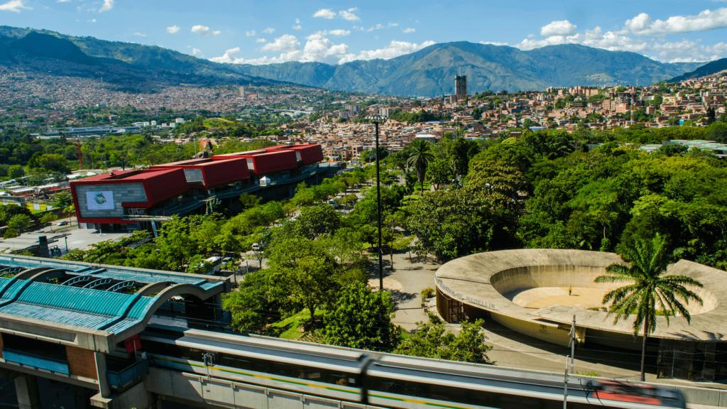 Los parques de Medellín
