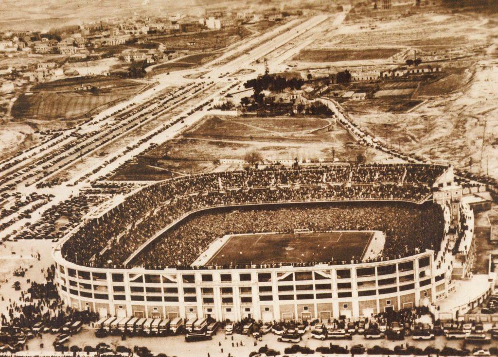 Así era el Estadio Santiago Bernabéu